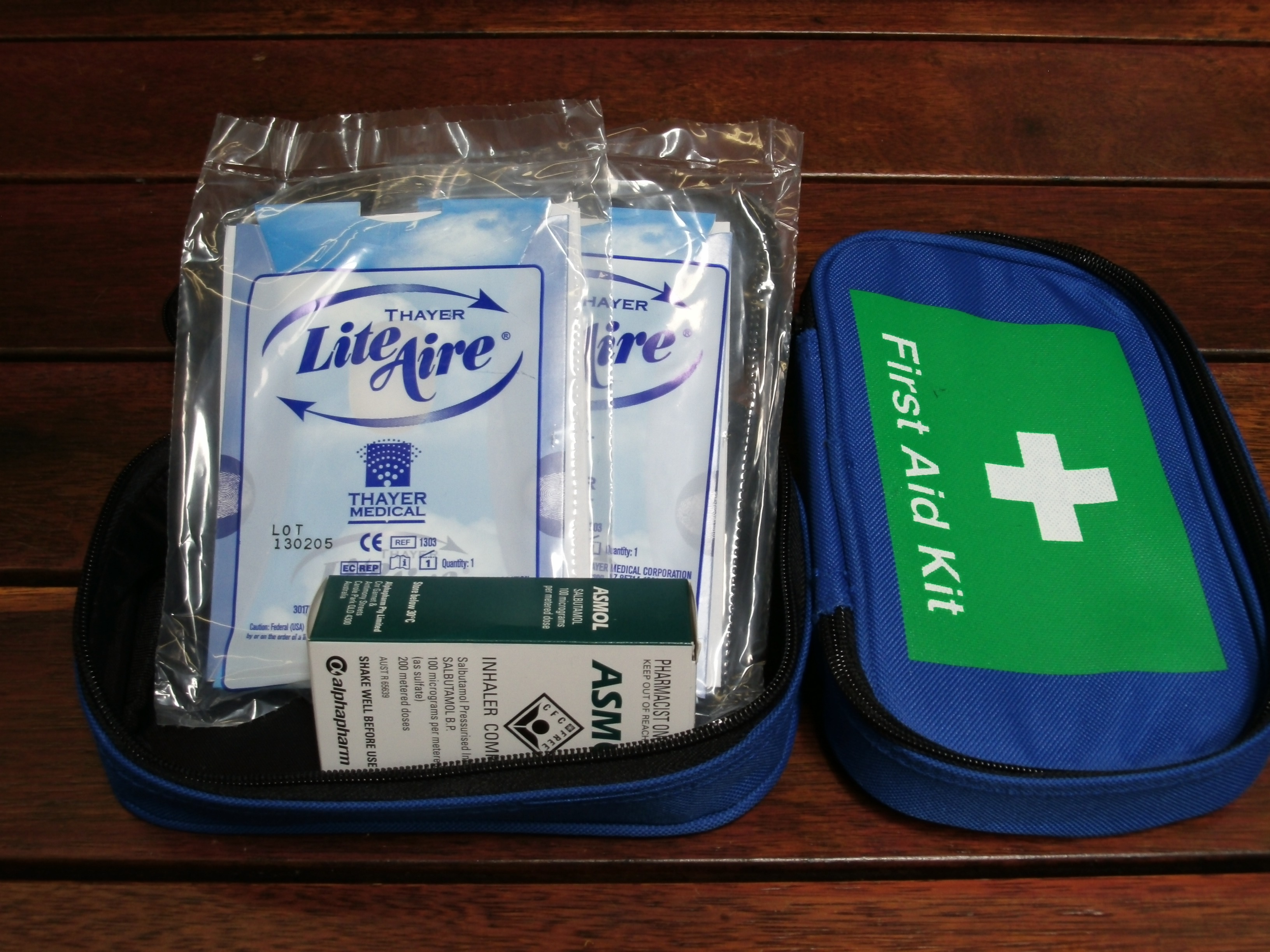 Kit Asthma Softpack Adelaide Safety Supplies