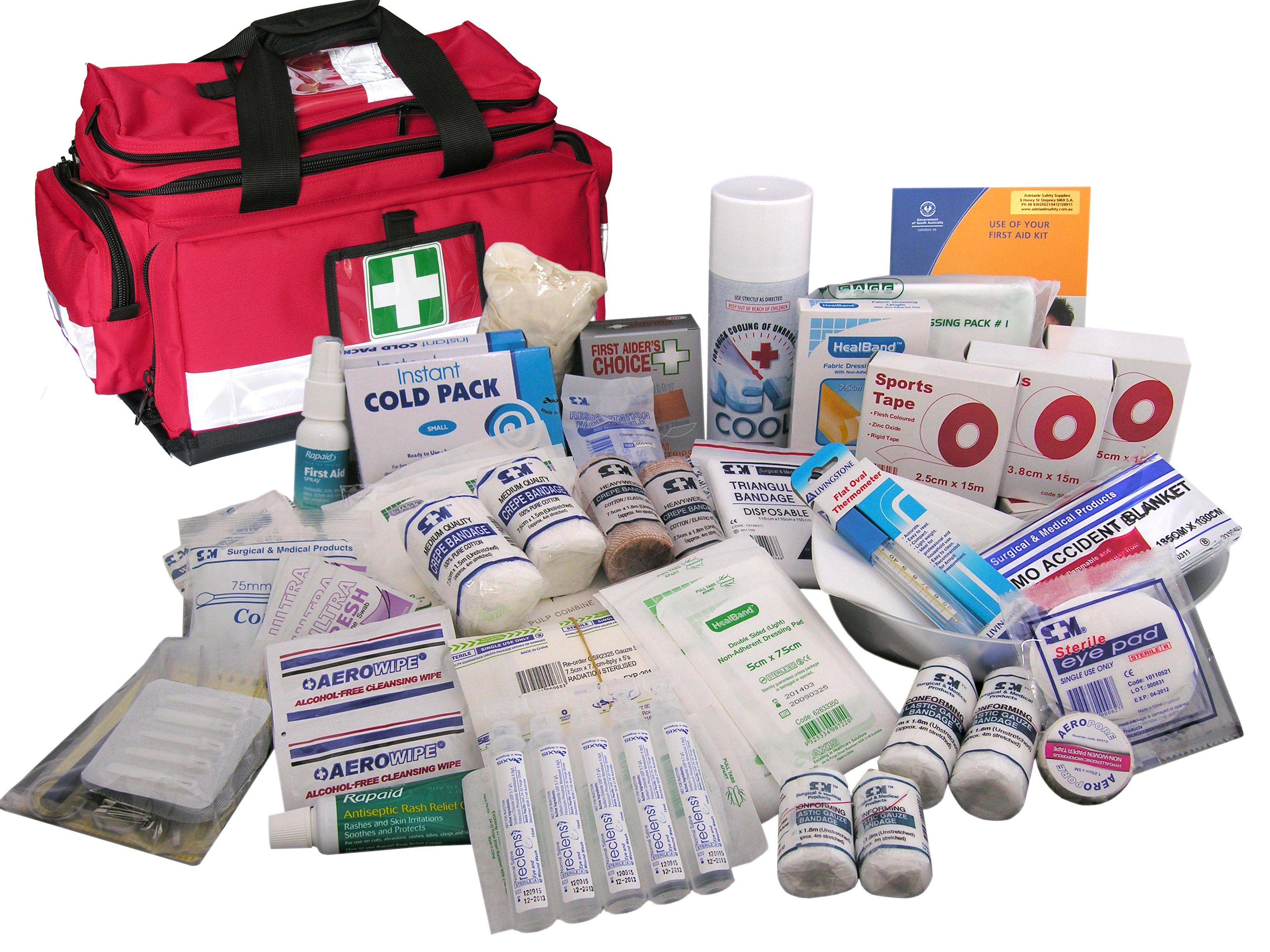Kit sports bag adelaide safety supplies kit sports bag publicscrutiny Choice Image