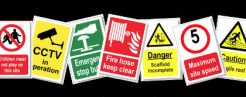 Signs, Stickers & Charts